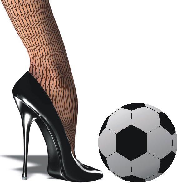 Женская любовь к футболу
