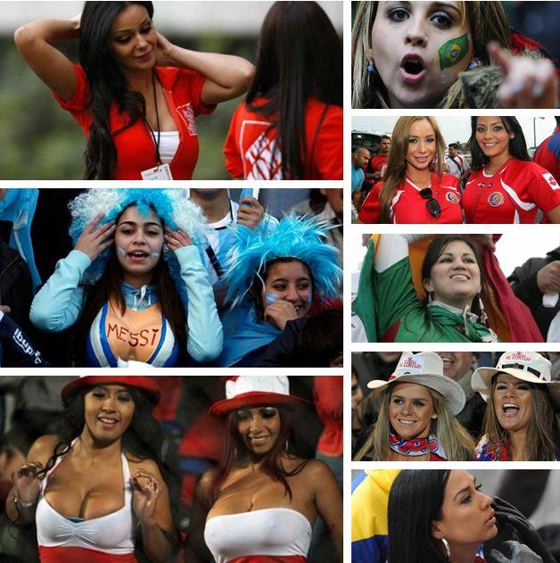 Кубок Америки 2011 болельщицы