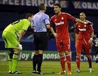 Роналдо недоволен судейством