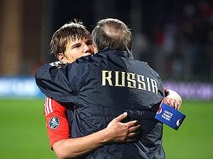 Россия-Андорра. Евро 2012. отборочный матч