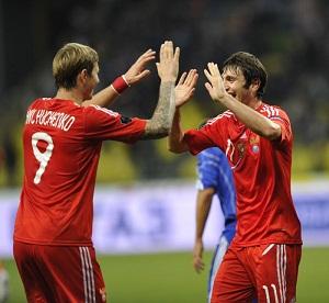 хотя России хватило бы и ничьей, чтобы выйти в финал Евро 2012, победа всё же приятнее
