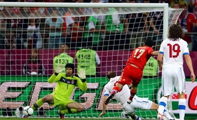 Россия-Чехия Евро 2012