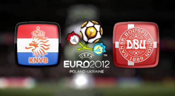 Евро 2012. обзор Нидерланды-Дания