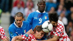 Евро 2012. Италия-Хорватия