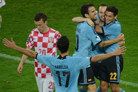 Евро 2012. Обзор Хорватия-Италия