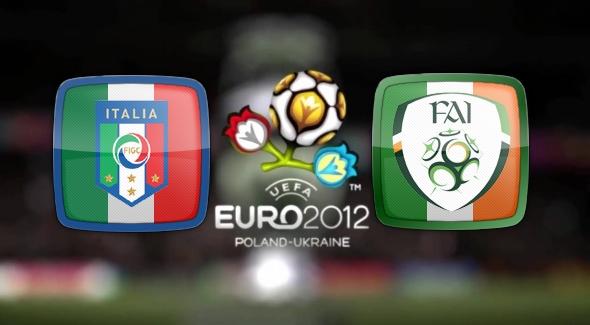 Евро 2012. Италия Ирландия