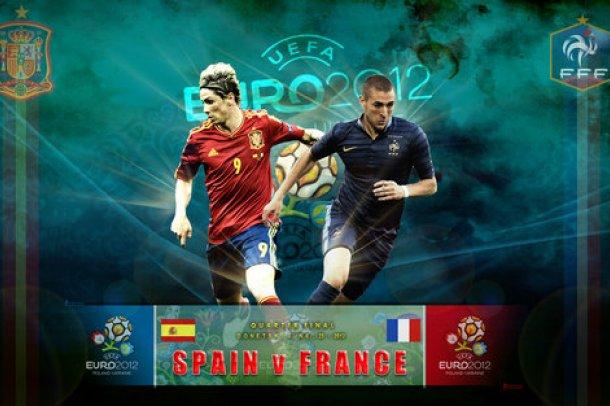 Евро 2012. Испания - Франция