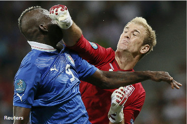 Евро 2012. Обзор Англия-Италия