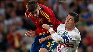 Евро 2012. Португалия-Испания Обзор матча