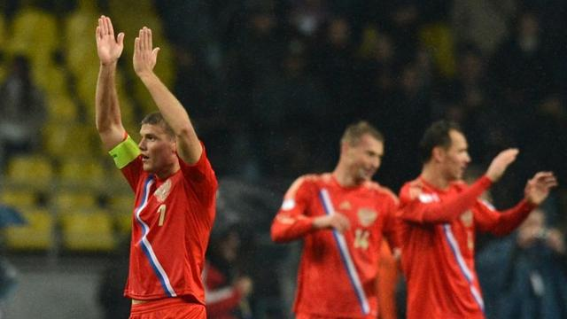 Россия - Азербайджан. Спасибо болельщикам!