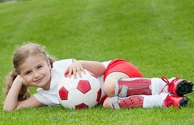 женщина и футбол